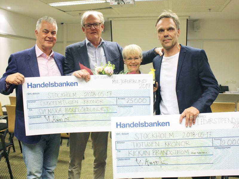 Städa Sveriges Miljöförbund och Ledarstipendium 2017