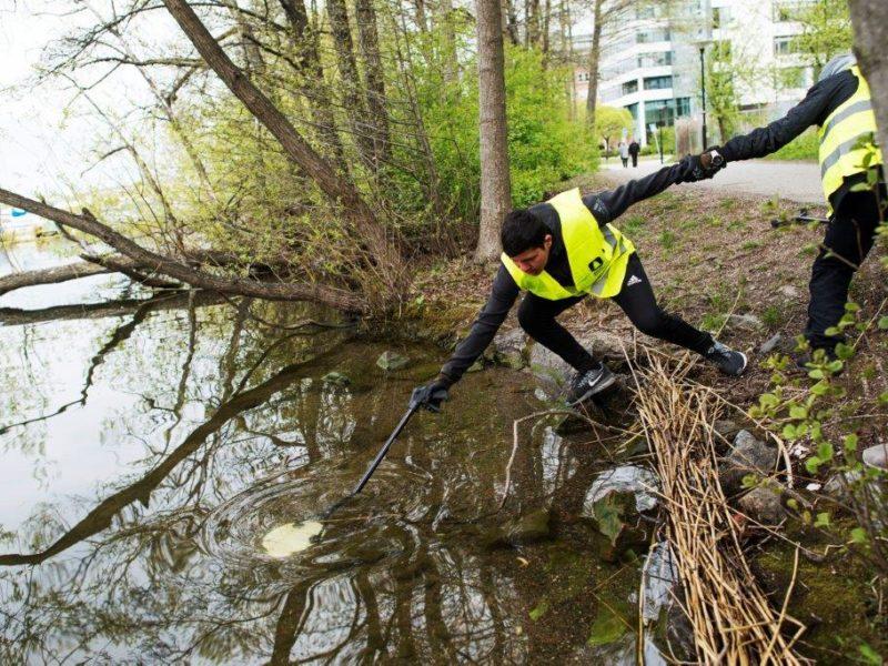 Storstädning i Norrköping