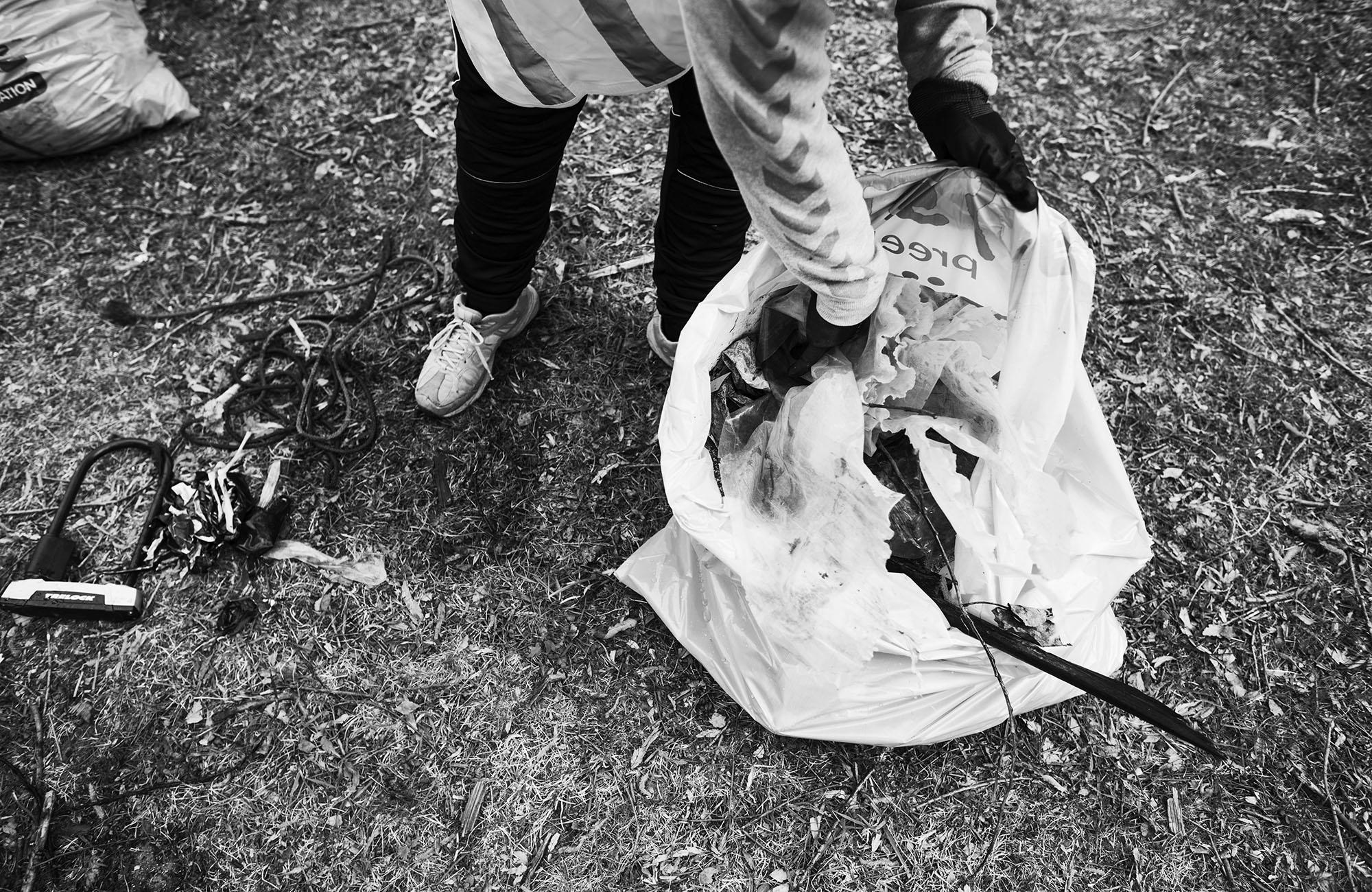 Föreningar faddrar återvinningsstationer i Nykvarn
