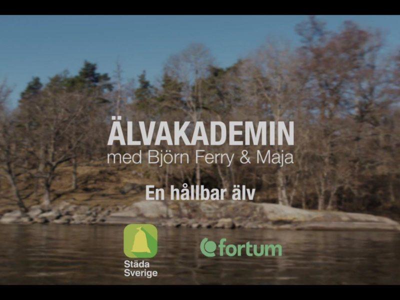 Dags för tredje delen i Älvakademin med Björn Ferry och Maja.