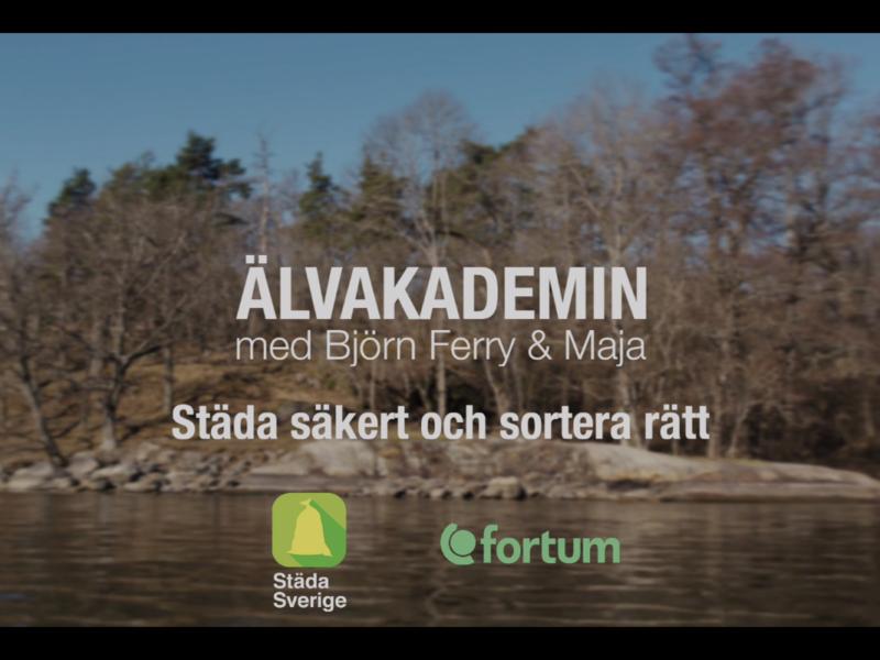 Andra avsnittet av Älvakademin med Björn Ferry och Maja.