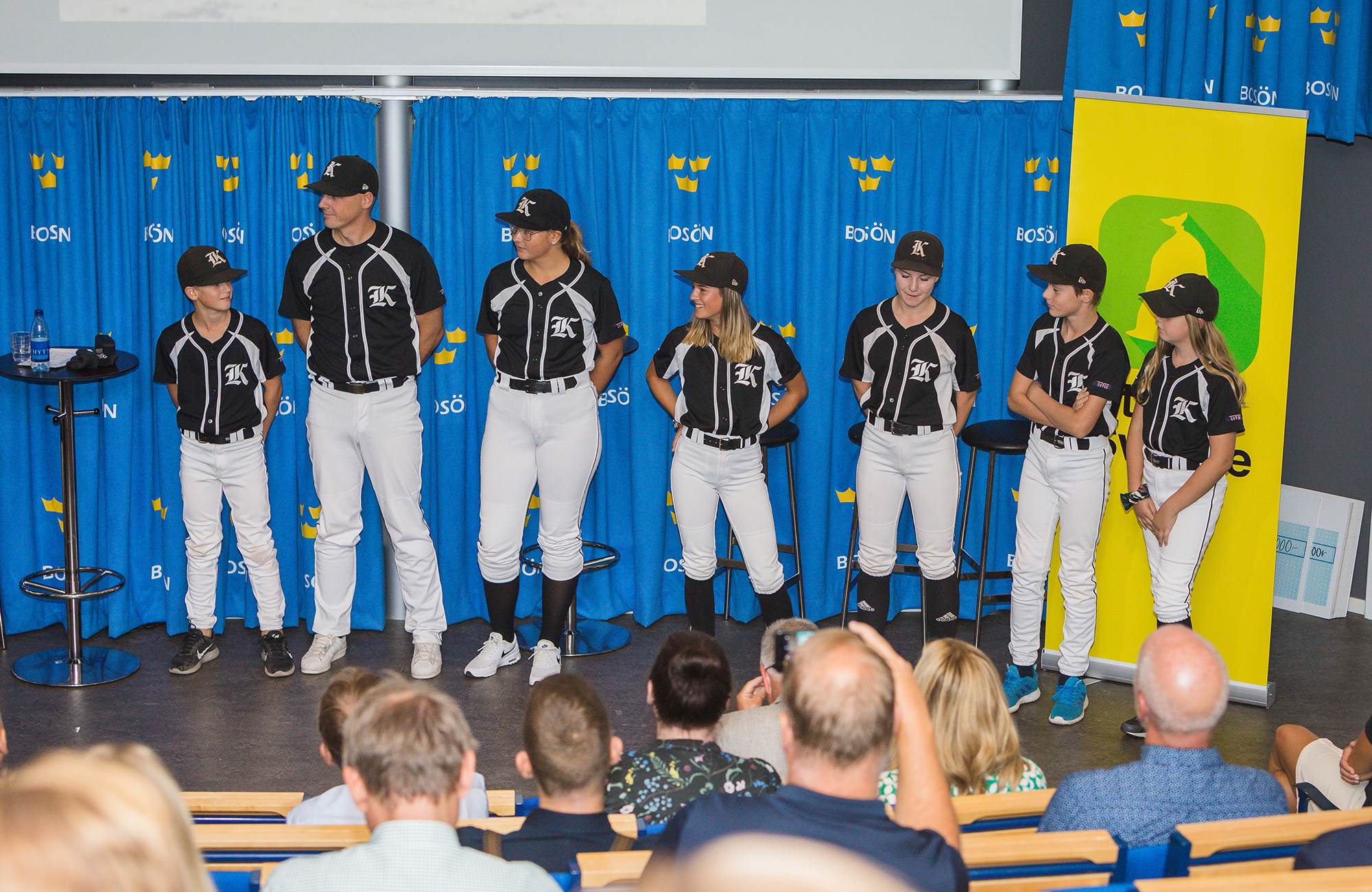 Basebollspelare från Karlskoga Bats