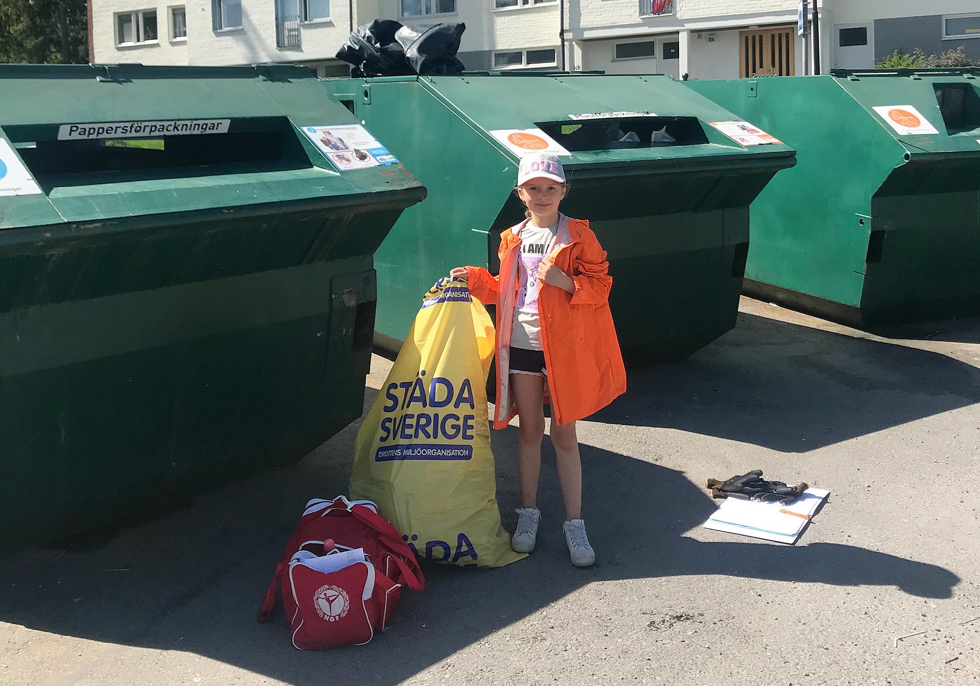 Höstuppstart för faddring av återvinningsstationer i Nykvarn