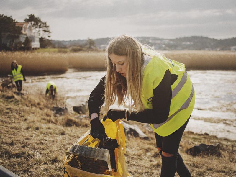 Strandens Dag 15/9 – Vi städar längs Sveriges kust och sjöar.