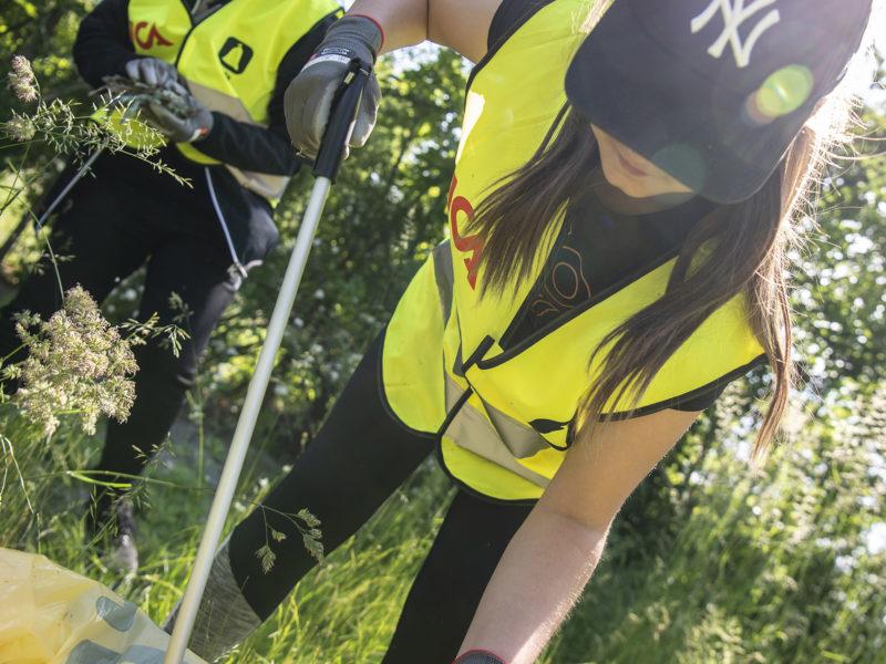 Idrottsföreningar och ICA städar Sverige igen