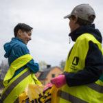 Valborgsstädning åt Hallbloms Uppsala 2019