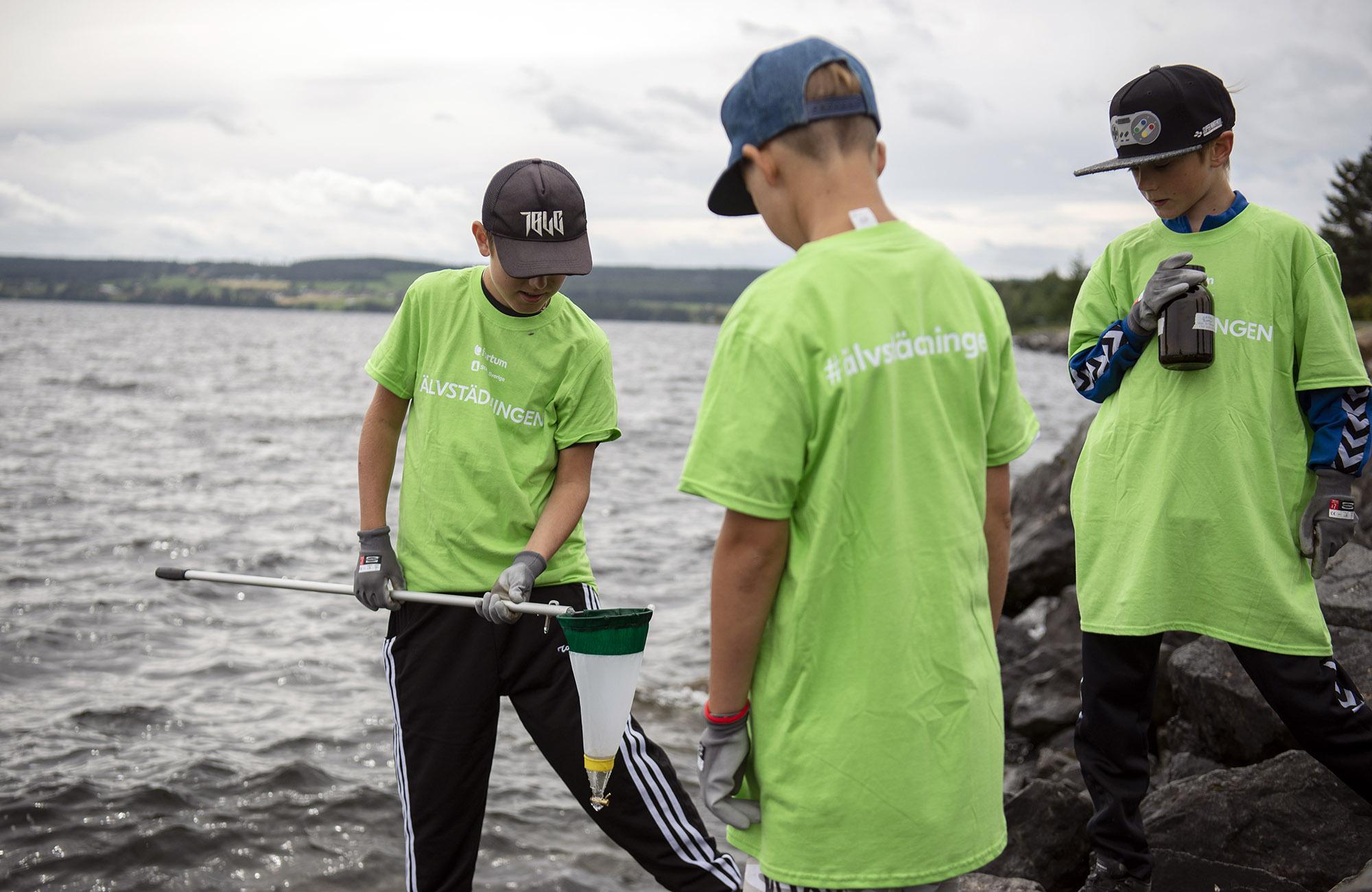 Mikroplaster konstaterade i svenska älvar