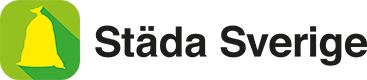 Städa Sverige logotyp liggande