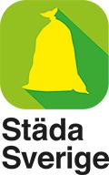 Städa Sverige logotyp stående