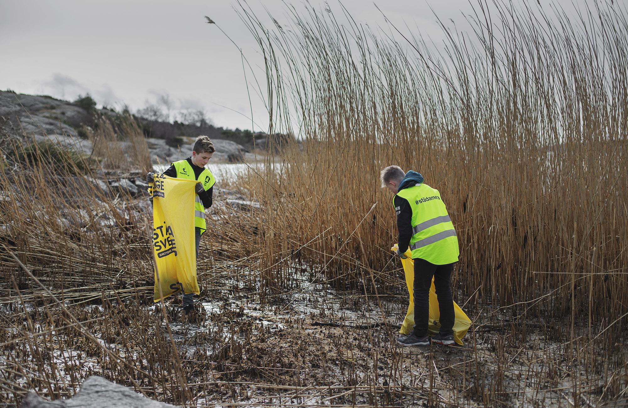 Stora behov hos både miljö och ungdomsföreningar vid årets Städa Kustpremiär