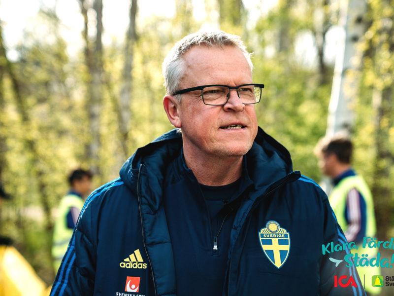 Förbundskapten Janne Anderssons nya uppdrag