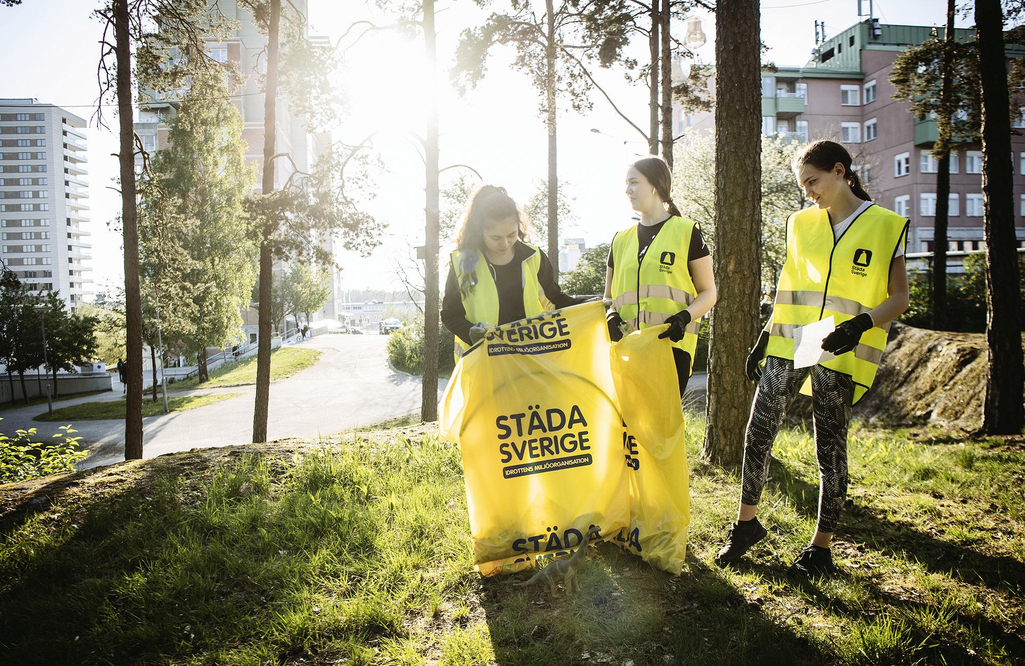 Idrottsungdomar storstädar i Täby kommun