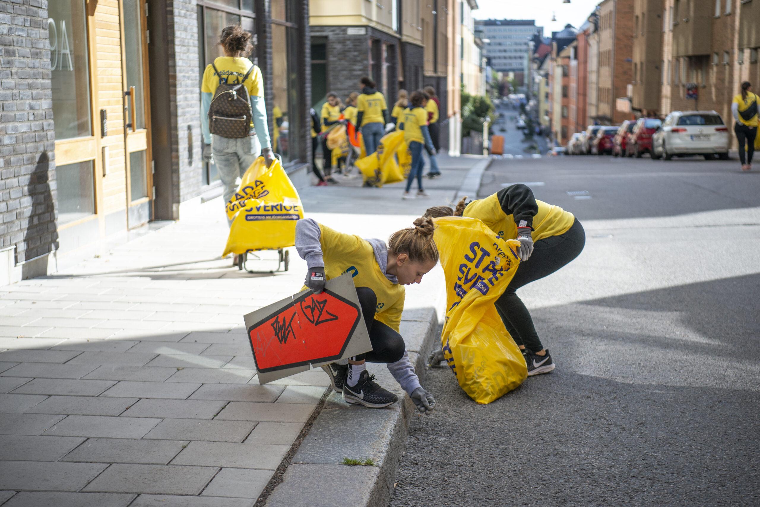 Rekordmånga föreningar städar Norrköping