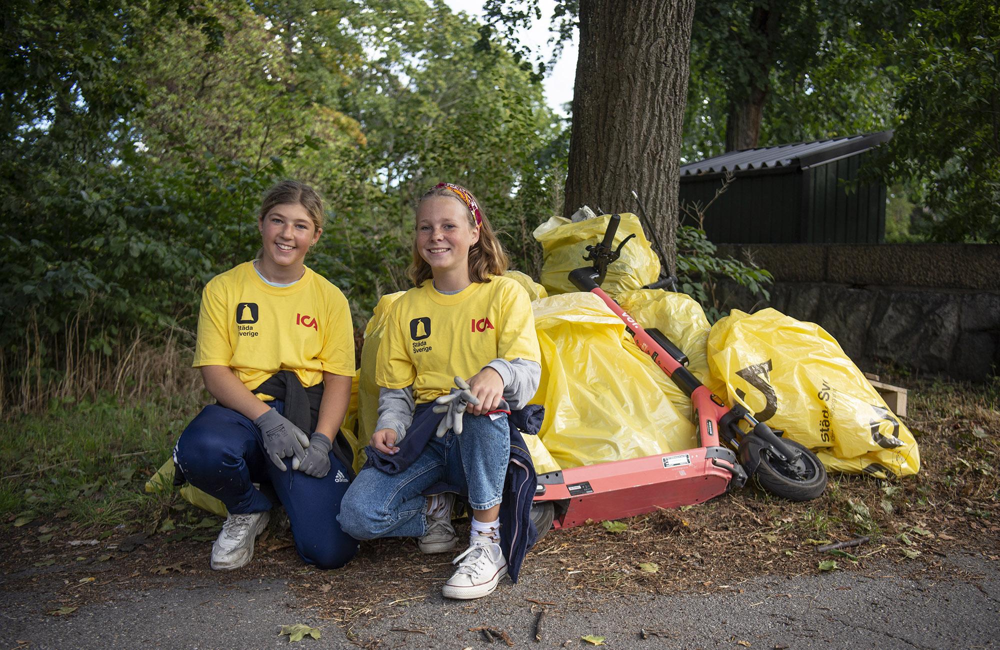 Miljön och ungdomsidrotten vinnare då Sveriges ICA-handlare och föreningar städat Sverige