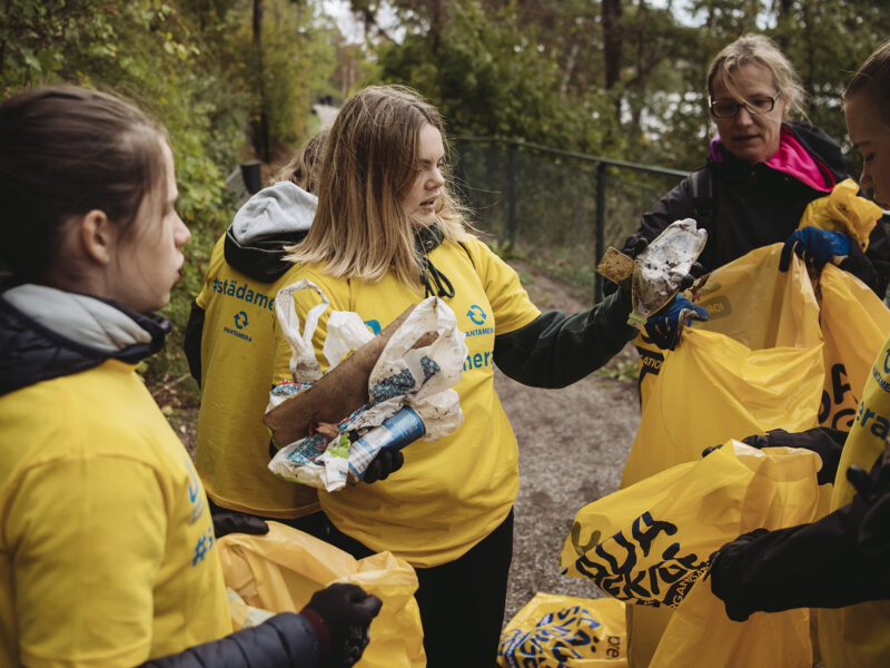 Pant i Hudiksvall och Norrtälje går till lokal föreningsstädning