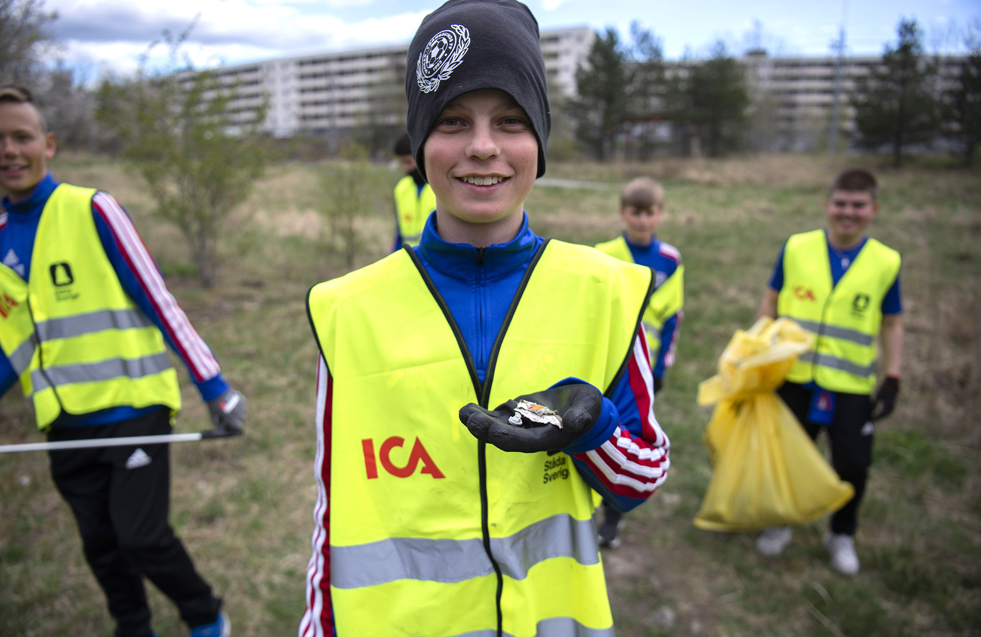 Ny chans för ICA-sponsrade föreningar att städa Sverige