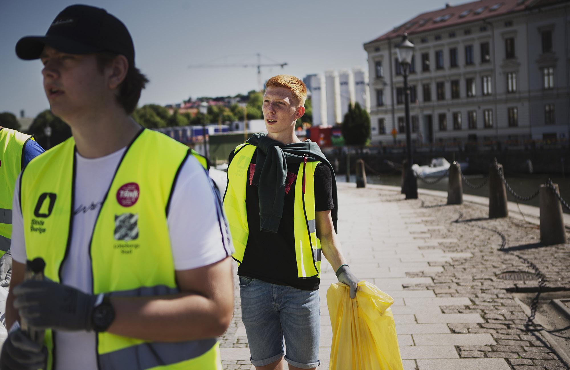 Rekordmycket pengar till idrotten genom Städa Sverige 2020