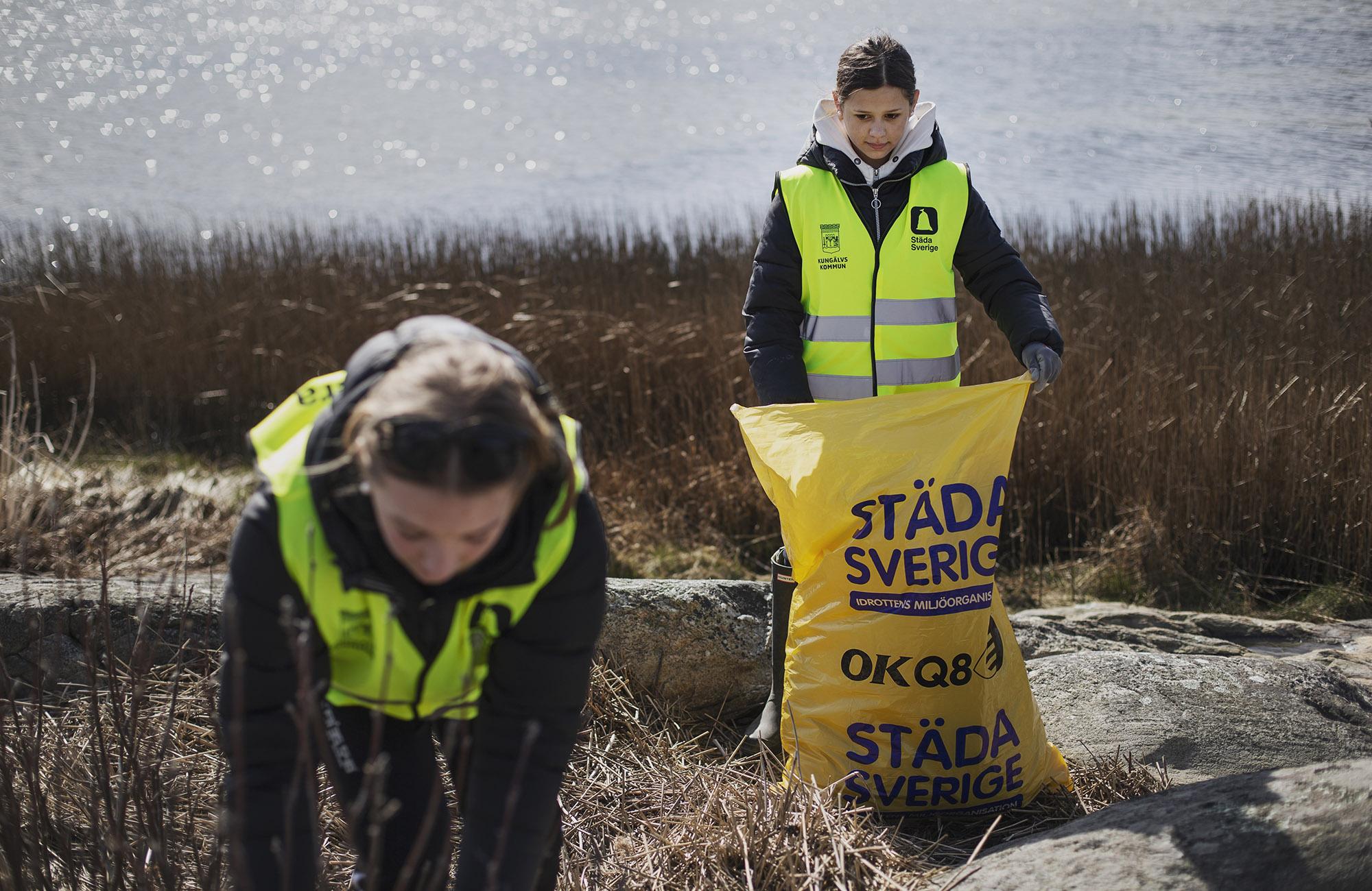 Kuststädande unga miljöhjältar uppmärksammas