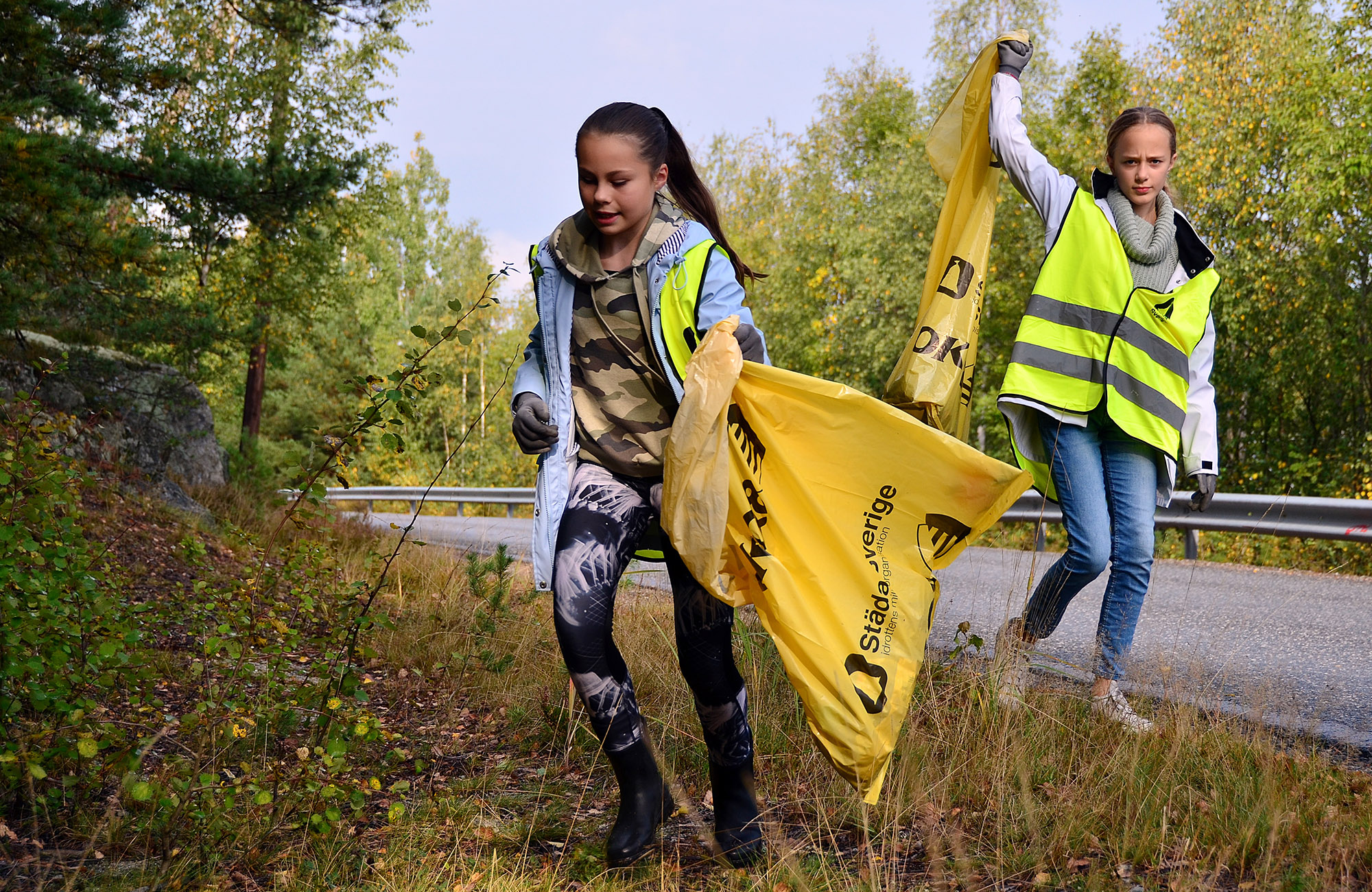Konståkarnas Städa Sverige-insats gör dem till årets miljöförbund