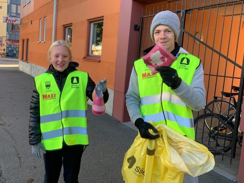 Kampen mot nedskräpning fortsätter i Örebro