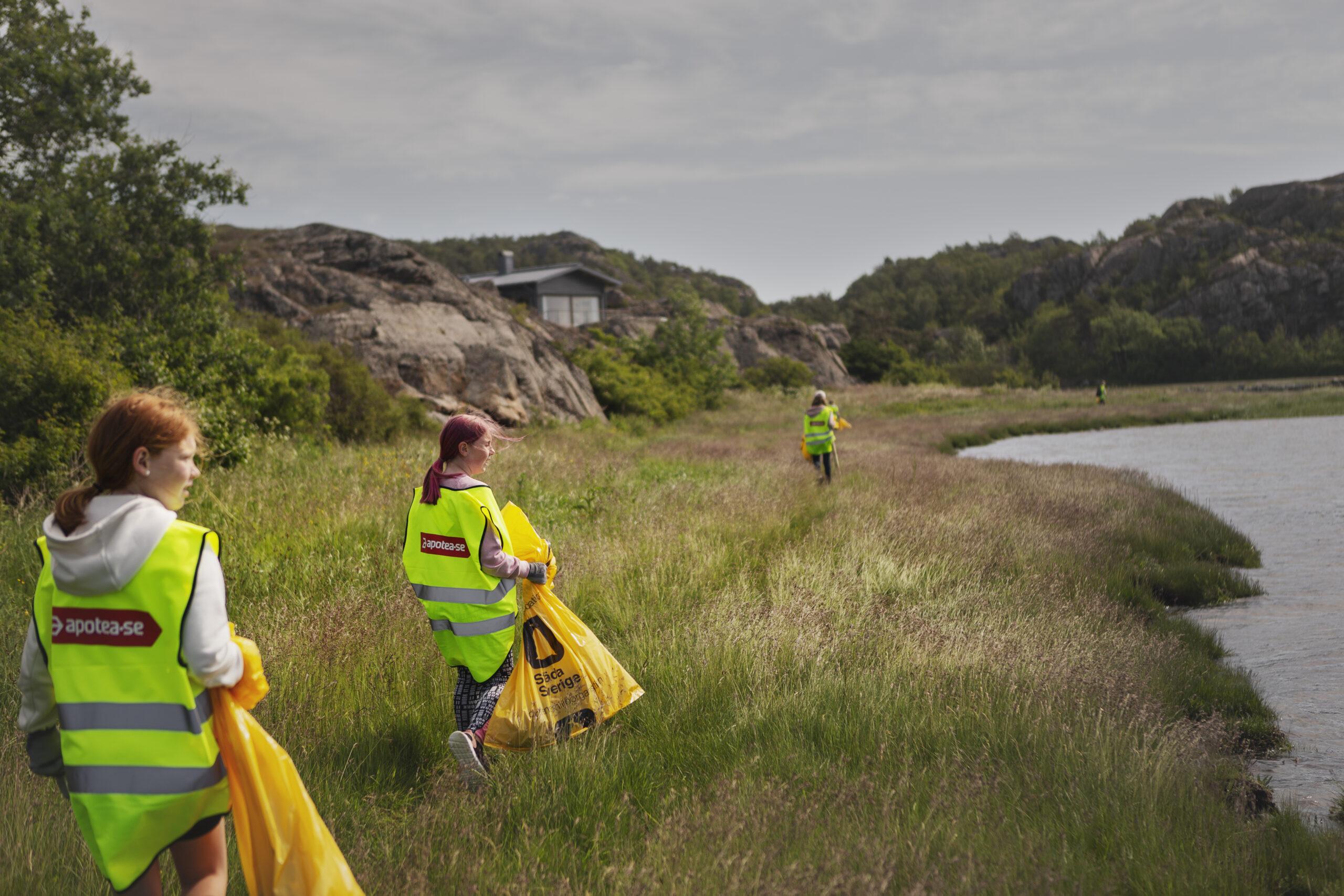 Apotea Clean-Up Day – en premiärhelg som gav mersmak