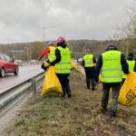 vägstädning med Städa Sverige 2021