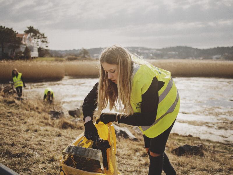 Städa Halland- ett nytt miljöprojekt ser dagens ljus