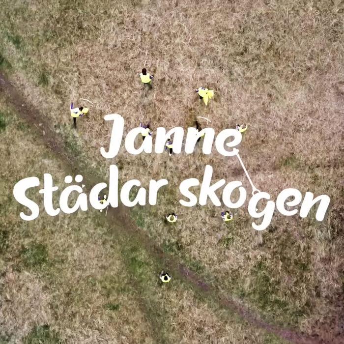Janne Andersson städar skogen