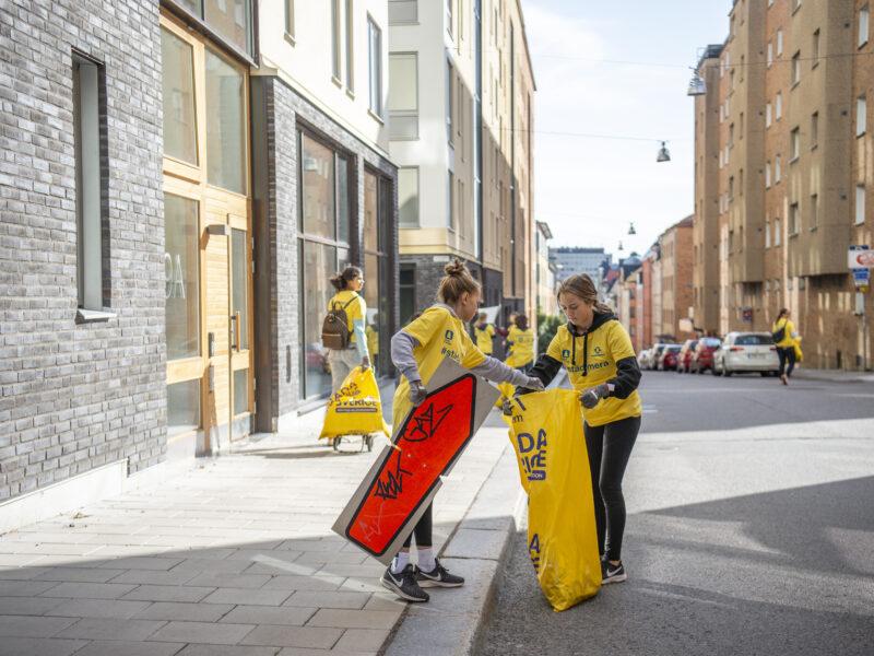 Ny app visar resultatet när Norrköping städats