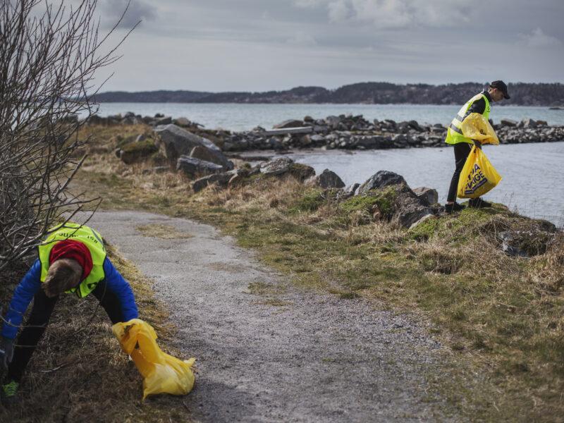 Städa Halland- ett nytt initiativ som minskar skräpet i alla halländska kommuner